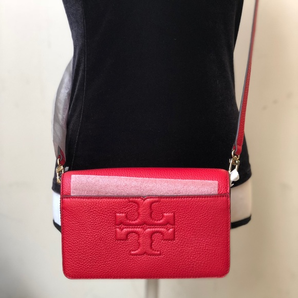 ee75dfae1bc Tory Burch Bombe T small crossbody bab   clutch